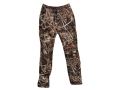 Drake Men's EST 6 Pocket Pants Waterproof Polyester Realtree Max-4 Camo 2XL