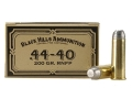 Product detail of Black Hills Cowboy Action Ammunition 44-40 WCF 200 Grain Lead Flat Nose Box of 50