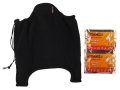 HeatMax Heated Neck Gaiter Synthetic Blend Black