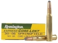 Product detail of Remington Express Ammunition 30-06 Springfield 180 Grain Core-Lokt Soft Point Box of 20