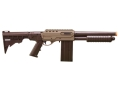 Marines Airsoft SSO1 Airsoft Shotgun 6mm Spring Pump Action Polymer Tan and Black