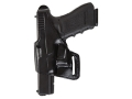 "Bianchi 75 Venom Belt Holster Left Hand S&W J-Frame 2"" Barrel Leather Black"