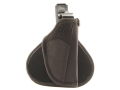 "Uncle Mike's Paddle Holster Right Hand Medium Frame Semi-Automatic 3"" to 4"" Barrel Nylon Black"