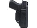 Blade-Tech Klipt Appendix Inside the Waistband Holster Right Hand Glock 42 Polymer Black
