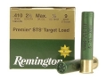 "Product detail of Remington Premier STS Target Ammunition 410 Bore 2-1/2"" 1/2 oz #9 Shot"