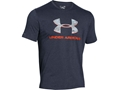 Under Armour Men's UA Camo Fill Logo T-Shirt Short Sleeve Cotton and Polyester Blend