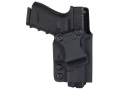 Comp-Tac Infidel Inside the Waistband Holster with Infidel Belt Clip 1.5&quot; Right Hand 1911 Kydex Black