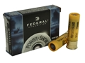Federal Power-Shok Ammunition 20 Gauge 2-3/4&quot; 3/4 oz Hollow Point Rifled Slug Box of 5