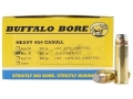 Buffalo Bore Ammunition 454 Casull 300 Grain Jacketed Flat Nose Box of 20