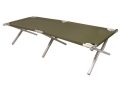 5ive Star Gear Mil Spec Folding Cot Aluminum Frame Nylon Cover Olive Drab