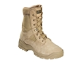 "5.11 ATAC 8"" Uninsulated Tactical Boots Suede and Nylon Coyote Men's 12 D"