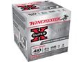 "Winchester Super-X High Brass Ammunition 410 Bore 2-1/2"" 1/2 oz #4 Shot Case of 250 (10 Boxes of 25)"