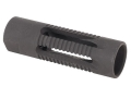 Yankee Hill Machine Flash Hider Phantom Smooth M14x1.0 LH Thread AK-47, AK-74 Steel Parkerized
