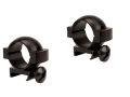 Tasco 1&quot; Weaver-Style Rings Matte Low