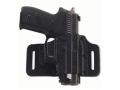 Galco Tac Slide Belt Holster Right Hand Smith &amp; Wesson M&amp;P and M&amp;P Compact 9, 40 caliber Leather and Kydex Black