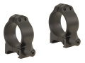 Warne 30mm Maxima Quick-Detachable Weaver-Style Rings Matte Low