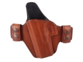 Bianchi Consent Outside the Waistband Holster Left Hand Glock 19, 23, 32 Leather Tan