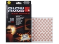 Glow Ammo Trajectory Identification Kit 40 Caliber (380 Diameter) 1 grain box of 255 Red Trace
