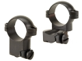 "Leupold 1"" Extended Ring Mounts Ruger 77 Matte High"