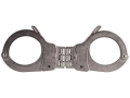 Smith &amp; Wesson Model 1H Universal Hinged Handcuffs Steel Nickel Finished