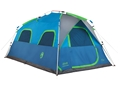 "Coleman Signal Mountain 8 Man Instant Tent 96"" x 168"" x 76"" Polyester Blue and Green"