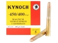 Product detail of Kynoch Ammunition 450-400 Nitro Express 3-1/4&quot; (408 Diameter) 400 Grain Woodleigh Weldcore Solid Box of 5