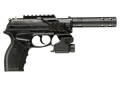 Crosman C11 Tatical Air Pistol .177 Caliber CO2 Semi-Automatic Polymer Stock Black