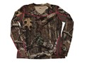 ScentBlocker Women's Sola 1.5 Performance Crew Shirt Long Sleeve Polyester Mossy Oak Break-Up Infinity Camo Medium 8-10