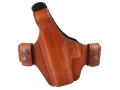 Product detail of Bianchi Allusion Series 130 Classified Outside the Waistband Holster Left Hand Glock 19, 23, 32 Leather Tan