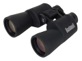 Bushnell Powerview Binocular 10x 50mm Instafocus Porro Prism Rubber Armored Black