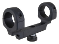 DNZ Products Freedom Reaper 1-Piece Scope Base with 1&quot; Integral Rings AR-15 Carry Handle Matte