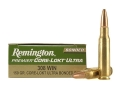 Remington Premier Ammunition 308 Winchester 150 Grain Pointed Soft Point Core-Lokt Ultra Bonded Box of 20