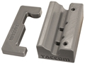 Taccom Bench Block for CMMG/Ciener AR-15 Rimfire Bolt Assembly Polymer Gray