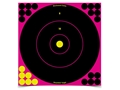 "Birchwood Casey Shoot-N-C Pink Target 12"" Bullseye Package of 12"