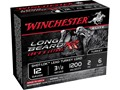 "Winchester Long Beard XR Turkey Ammunition 12 Gauge 3-1/2"" 2 oz #6 Copper Plated Shot"