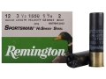 "Remington Sportsman Hi-Speed Ammunition 12 Gauge 3-1/2"" 1-3/8 oz #2 Non-Toxic Steel Shot Case of 250 (10 Boxes of 25)"