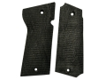 Vintage Gun Grips Star Militia Polymer Black