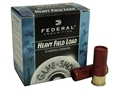 "Federal Game-Shok Heavy Field Load Ammunition 12 Gauge 2-3/4"" 1-1/4 oz #4 Shot Box of 25"