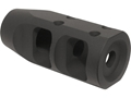 "JP Enterprises Bennie Cooley TactiCal Muzzle Brake 5/8""-24 Thread AR-10, LR-308 .925"" Outside Diameter Threaded End Steel Matte"