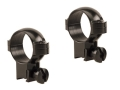 "Burris 1"" Deluxe Rings 22 Rimfire Steel Gloss High"