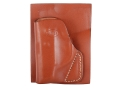Hunter 2500 Pocket Holster Right Hand Taurus TCP .380 Leather Brown