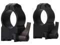 "Warne 1"" Quick-Detachable Ring Mounts Ruger 77 Matte High"