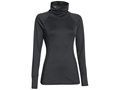Under Armour Women's ColdGear Infrared DEVO Cozy-Neck Base Layer Shirt Polyester Asphalt Heather