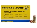 Buffalo Bore Ammunition 40 S&W 140 Grain Barnes TAC-XP Jacketed Hollow Point Lead-Free Box of 20