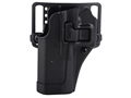 BLACKHAWK! CQC Serpa Holster Left Hand S&W J-Frame (Except 357) Polymer Black