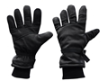 Military Surplus Cold Weather Gloves Leather Black
