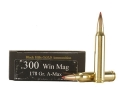 Product detail of Black Hills Gold Ammunition 300 Winchester Magnum 178 Grain Hornady A-Max Box of 20
