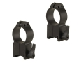 Warne 30mm Maxima Quick-Detachable Weaver-Style Rings Matte Ultra High