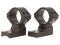 "Talley Lightweight 2-Piece Scope Mounts with Integral 1"" Extended Front Savage 10 Through 16, 110 Through 116 Flat Rear Matte High"