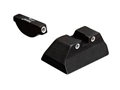 Trijicon Night Sight Set Ruger P90, P91, P93, P95, P97 Steel Matte 3-Dot Tritium Green